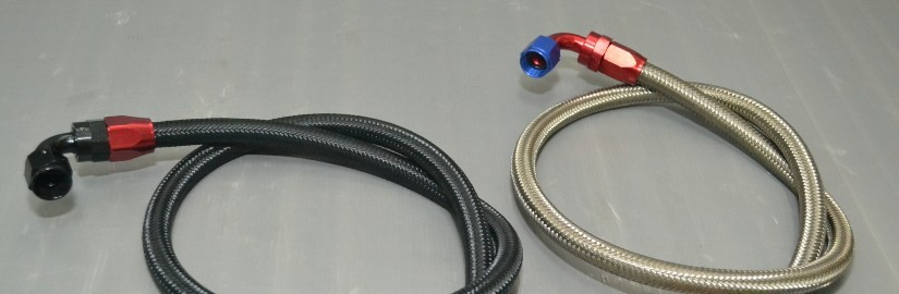 NISSAN BRAIDED HOSE & FITTING